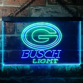 Green Bay Packers Busch Light LED Neon Sign neon sign LED