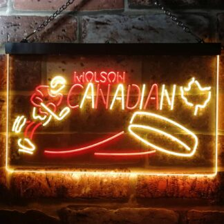 Molson Canadian - Hockey LED Neon Sign neon sign LED