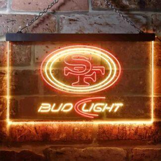 San Francisco 49ers Bud Light LED Neon Sign neon sign LED