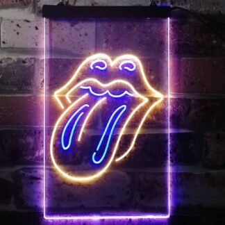 Rolling Stones Logo 2 LED Neon Sign neon sign LED