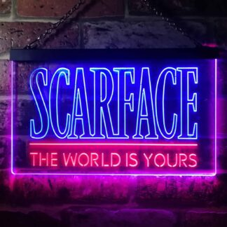 Scarface The World Is Yours LED Neon Sign neon sign LED