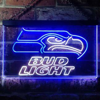Seattle Seahawks Bud Light LED Neon Sign neon sign LED