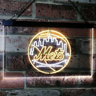 New York Mets Logo 1 LED Neon Sign neon sign LED