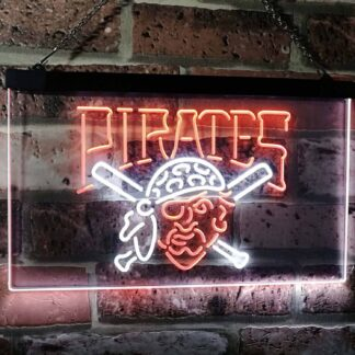 Pittsburgh Pirates Logo 1 LED Neon Sign - Legacy Edition neon sign LED