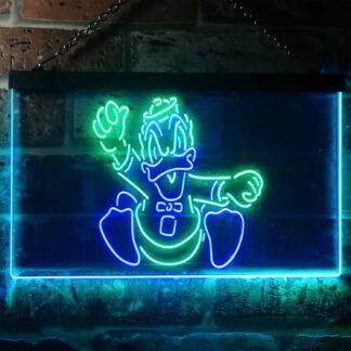 Oregon Ducks Mascot LED Neon Sign neon sign LED