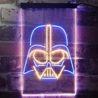 Star Wars Darth Vader Face 2 LED Neon Sign neon sign LED