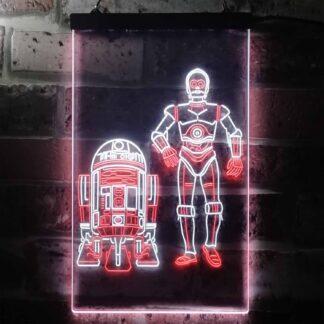 Star Wars R2D2 C3PO LED Neon Sign neon sign LED